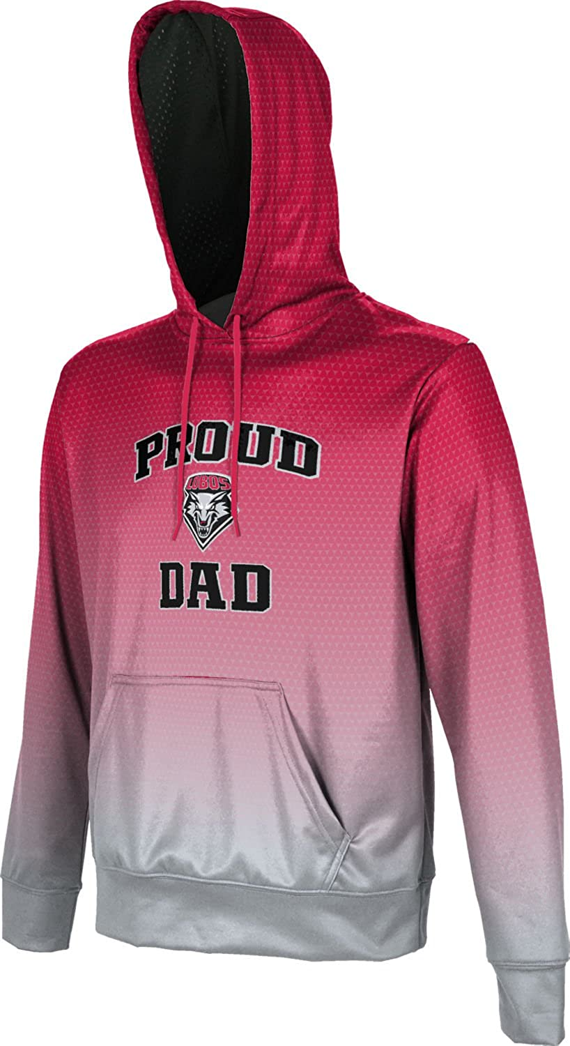Zoom School Spirit Sweatshirt ProSphere University of New Mexico Fathers Day Mens Pullover Hoodie