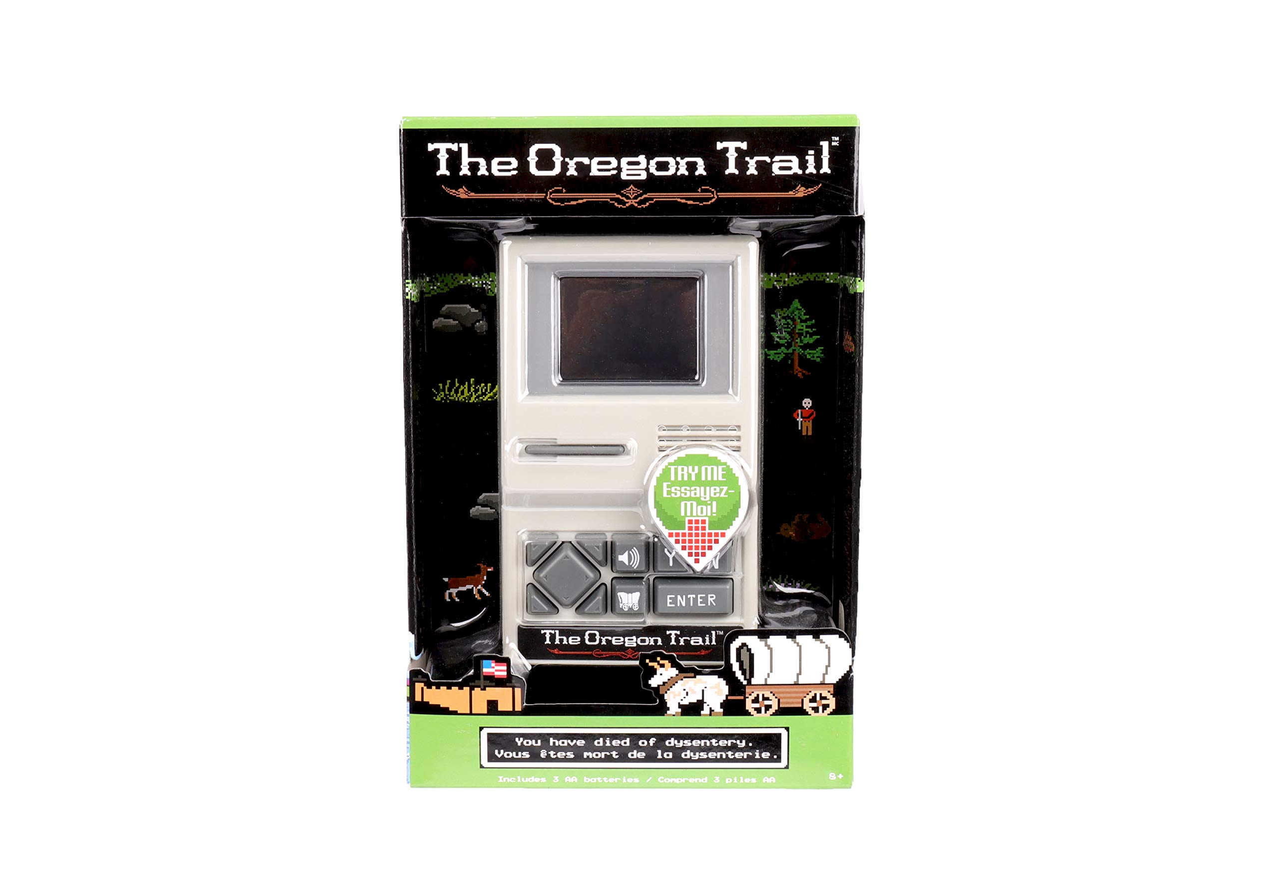 The Oregon Trail Handheld Game by Basic Fun