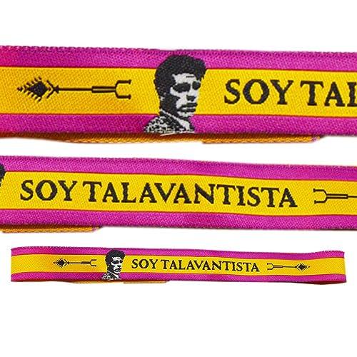 ALBERO Pulsera Soy TALAVANTISTA TAURINA España Tela - 3 Unidades - 29 X  1 8b748ec946e