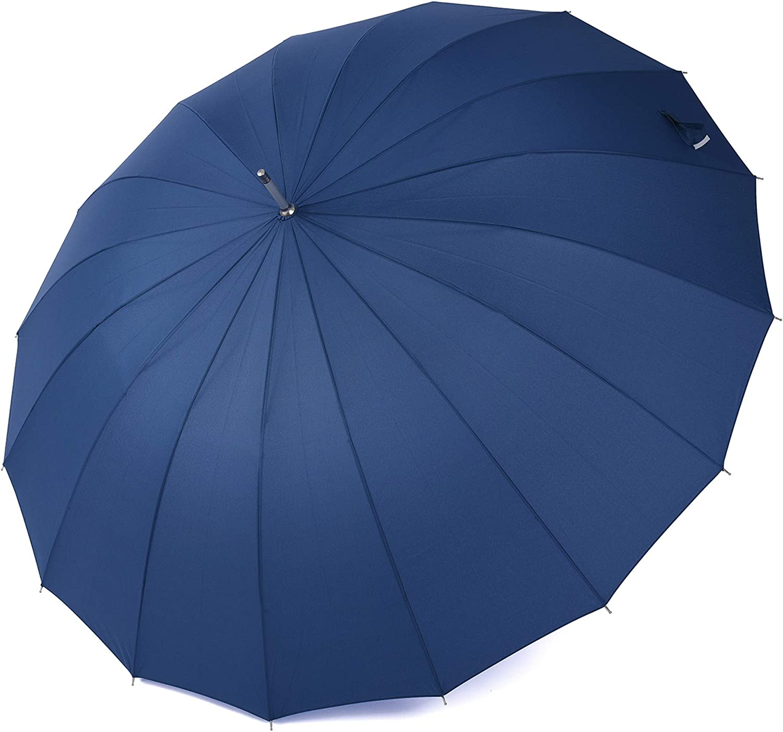 120cm Diameter RAINBOW UMBRELLA Rain Sun Colourful Parasol Long Shaft New