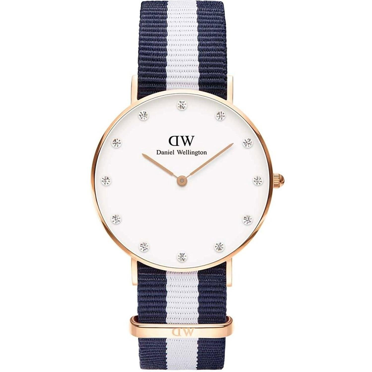 Daniel Wellington ダニエルウェリントン 腕時計 0953DW 34mm Classy Glasgow クラッシー グラスゴー Rose Gold ローズゴールド レディース [並行輸入品] B01BHRZWH0