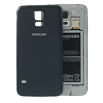 BEST2MOVIL Tapa DE BATERÍA Back Cover Color Gris Compatible con Samsung Galaxy S5 SM-G900F