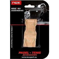 NOX Transparente Protector de Marco de Pala de Padel Relieve, Deportes, 3,5x12,18cm