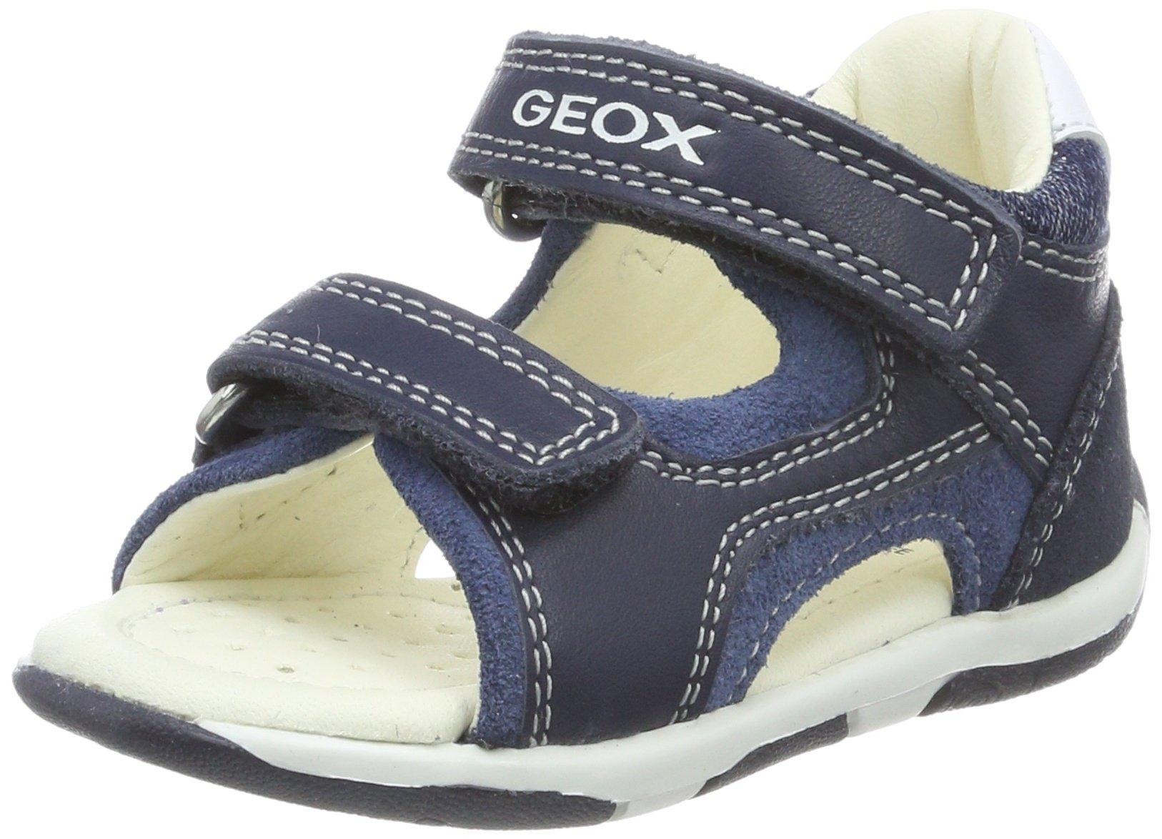 Geox Boys' TAPUZ 7 Sandal, Navy/avio, 19 M EU Toddler (4 US) by Geox