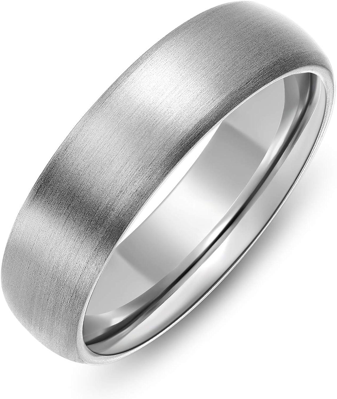 6 mm Titanium Band Hammered Titanium Band Designer Titanium Ring Titanium Ring For Men Titanium Ring Hammered Titanium Band For Him