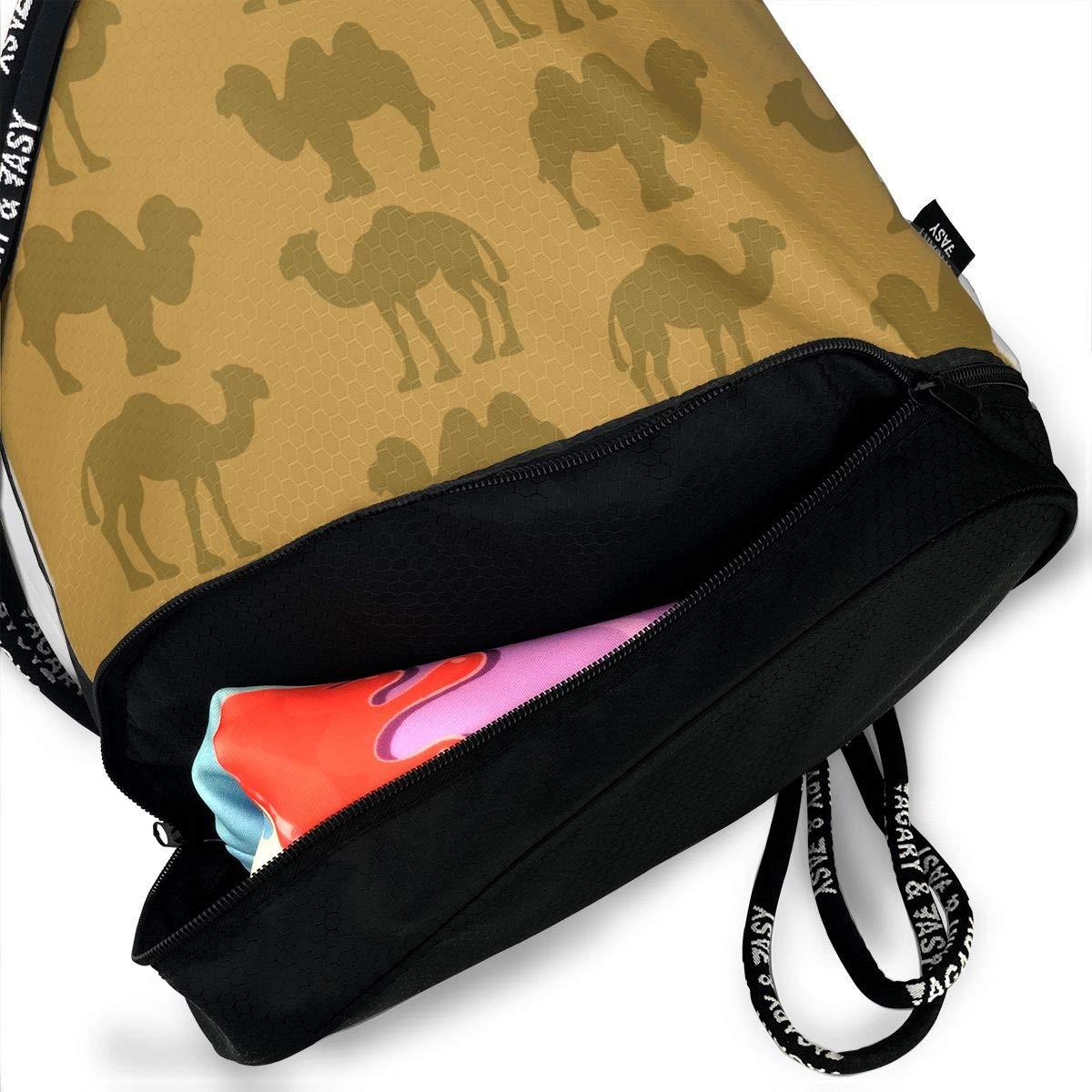 HUOPR5Q Floral Drawstring Backpack Sport Gym Sack Shoulder Bulk Bag Dance Bag for School Travel