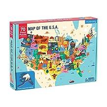 Mudpuppy America Map Puzzle