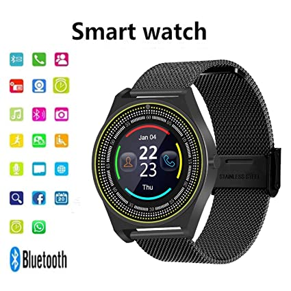 TelDen Smart Watch, Fitness Tracker Bluetooth Watch Phone with Heart Rate, Sleep Monitor for Kids Women Man, Activity Tracker with Touch Screen & SIM ...