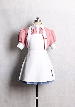 Despair Mikan Tsumiki White Nurse Cosplay Costume
