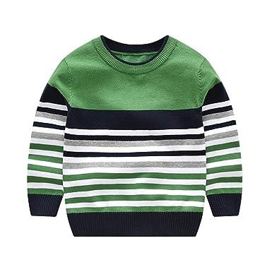 Amazon.com Kids Boys Striped Sweaters Children Pullover