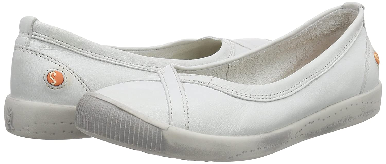 Softinos Damen Ilma Smooth 527) Geschlossene Ballerinas, Weiß (Weiß 527) Smooth 88c8e1