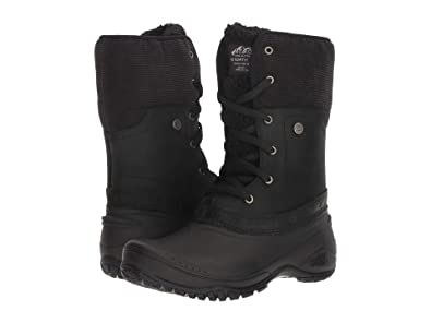 00b7855739e88 The North Face Shellista Roll-Down Women | TNF Black/Weathered Black  (NF0A3RQY7VR