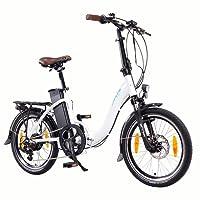 NCM Paris (+) 20 Zoll E-Bike, E-Faltrad, 36V 15Ah / 19Ah 540Wh / 684Wh Akku, 250W Das-Kit Heckmotor, Scheibenbremsen