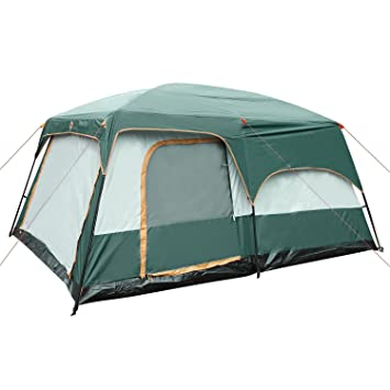 ... Coleman Vacationer 2 Room Ten Person 15 X 10 Cabin. Holidays With Kids Specias In Family Travel Tent  sc 1 st  Best Tent 2018 & Instant Tent 10 Person - Best Tent 2018