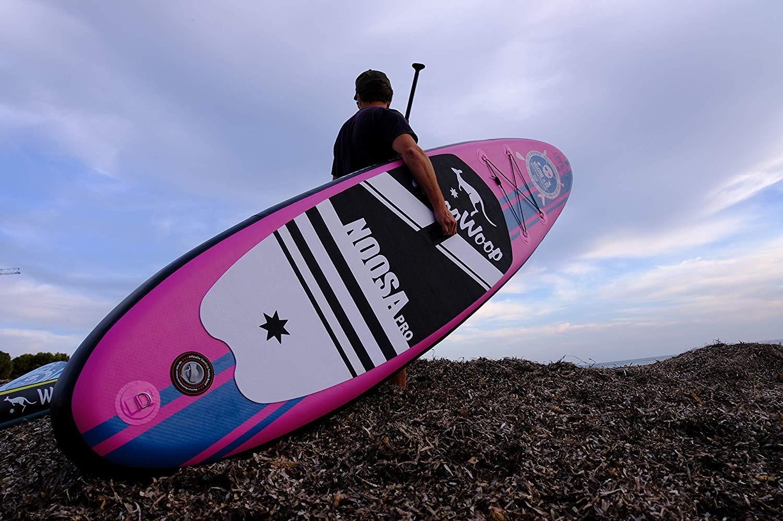 Woop Woop Tabla de Paddle Surf Hinchable Noosa Pro SUPRO93: Amazon ...