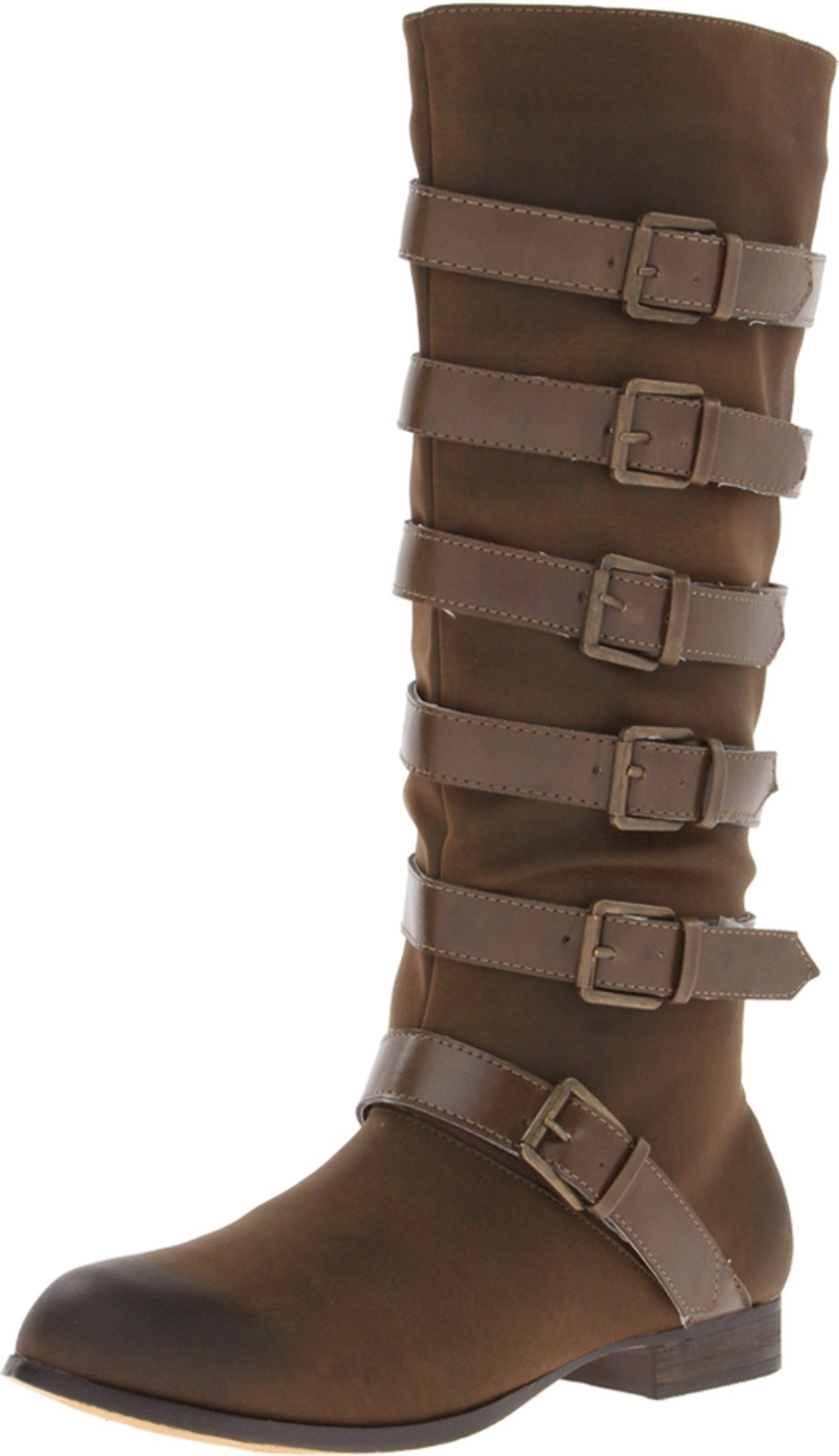 Penny Loves Kenny Women's Krista Riding Boot,Brown,6.5 M US