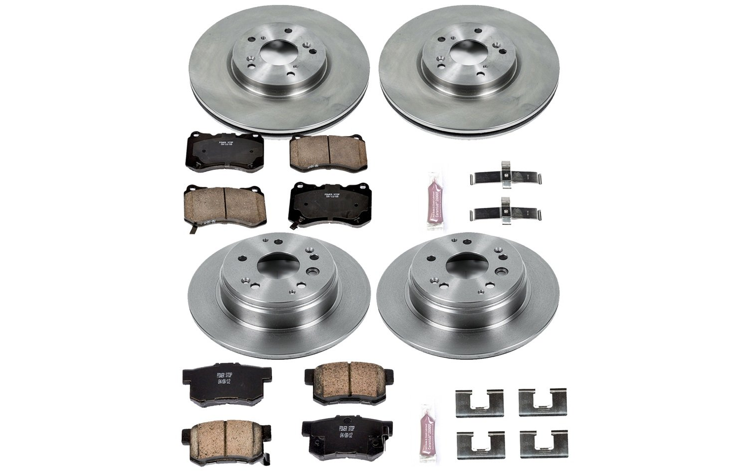 Autospecialty KOE2718 1-Click OE Replacement Brake Kit