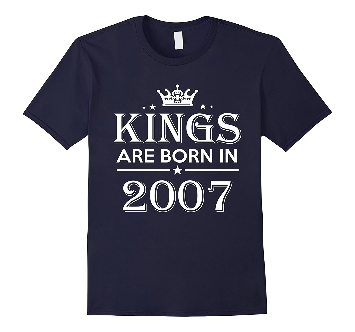 10th Birthday Gifts Idea For HimMen-10 Years Old King Shirt-PL