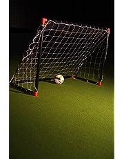 But de foot loisir enfant 1,8 x 1,2m - Noir et rouge POWERSHOT®