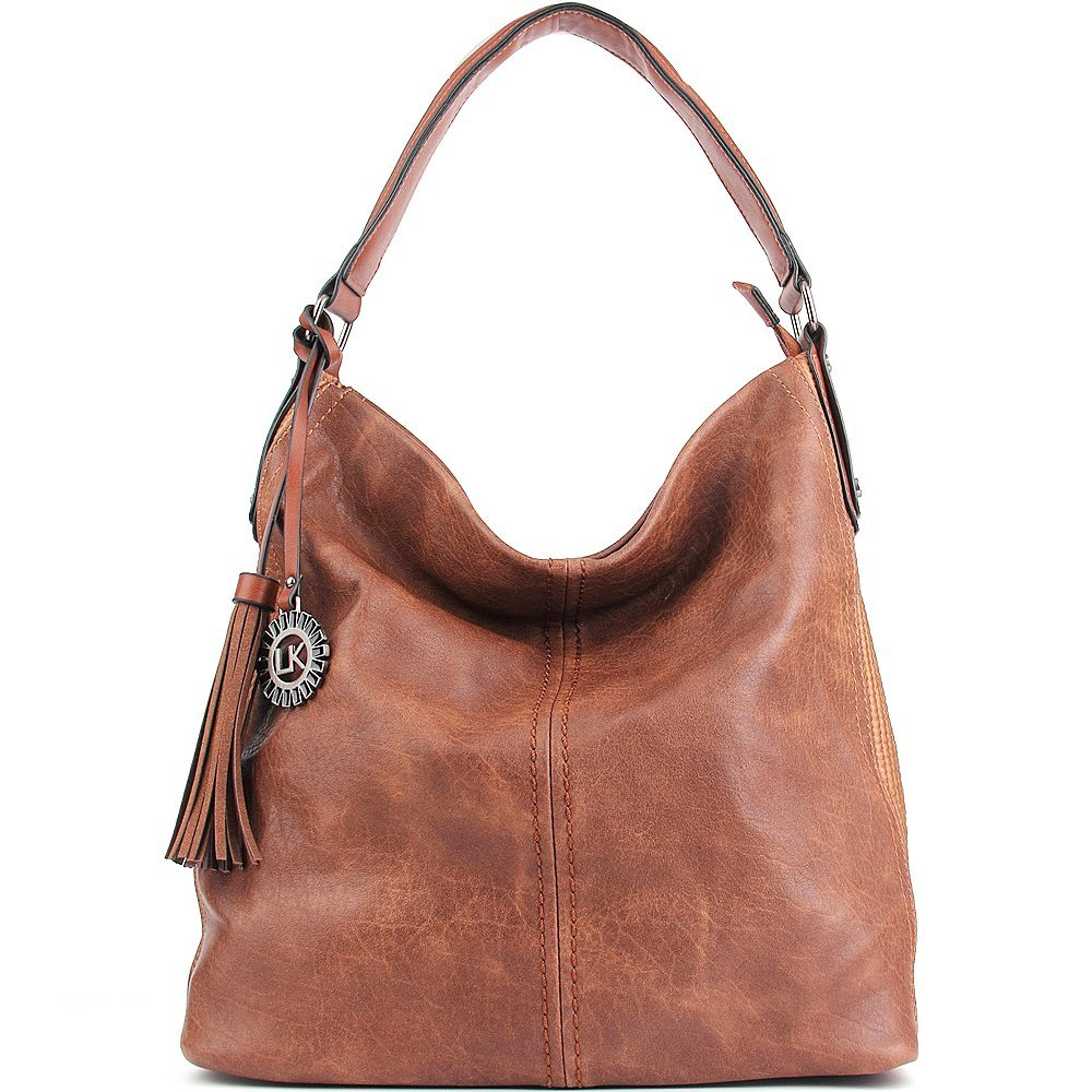 Women Handbags UTAKE Shoulder Bags Hobo Handbags for Women PU Leather Large Capacity 2pcs sets