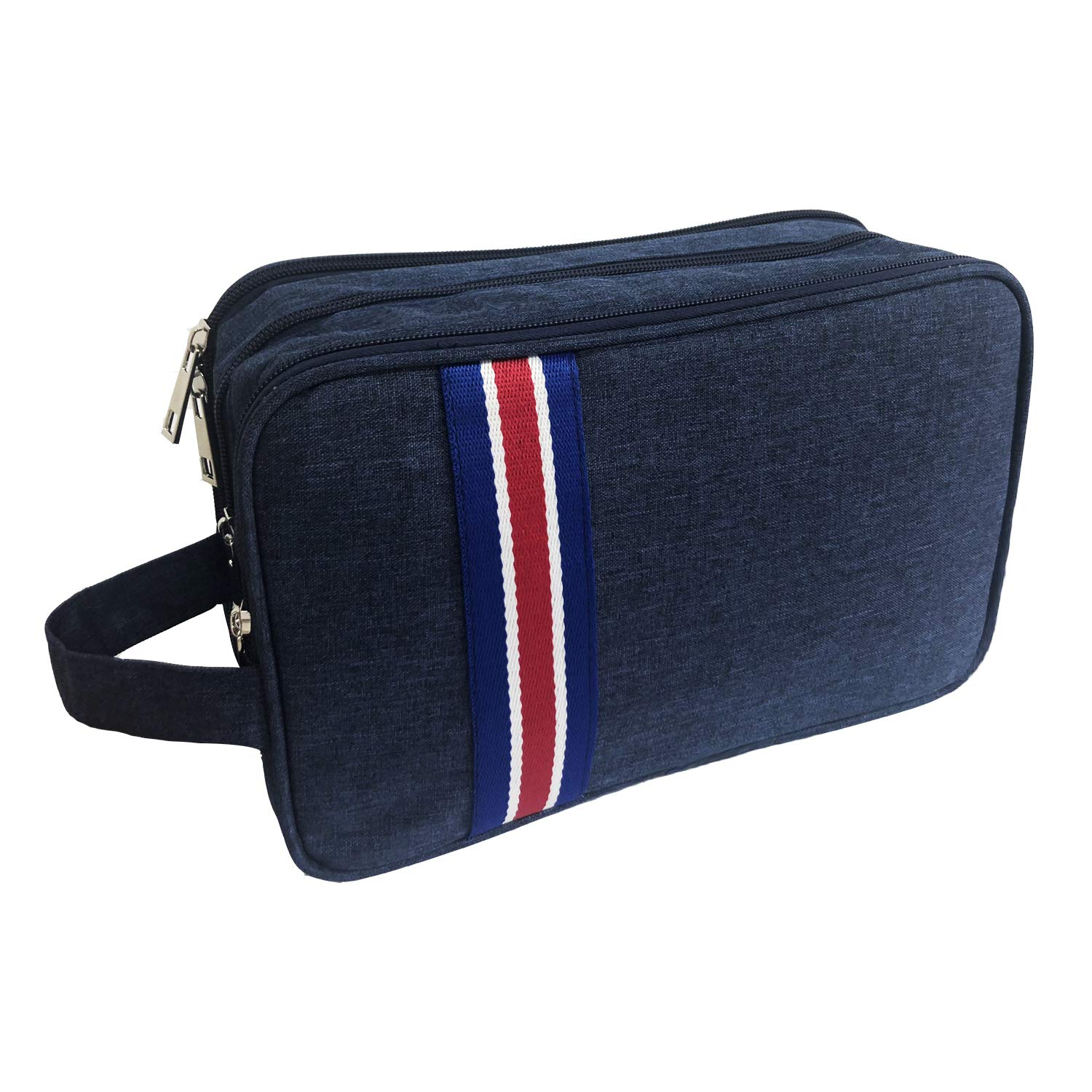Travel Toiletry Wash Bag for Mens Womens, Handing Waterproof Dopp Kit for Men Hanging Travel Shaving Wash Bags Toiletries Storage Accessories in Carry-On Luggage
