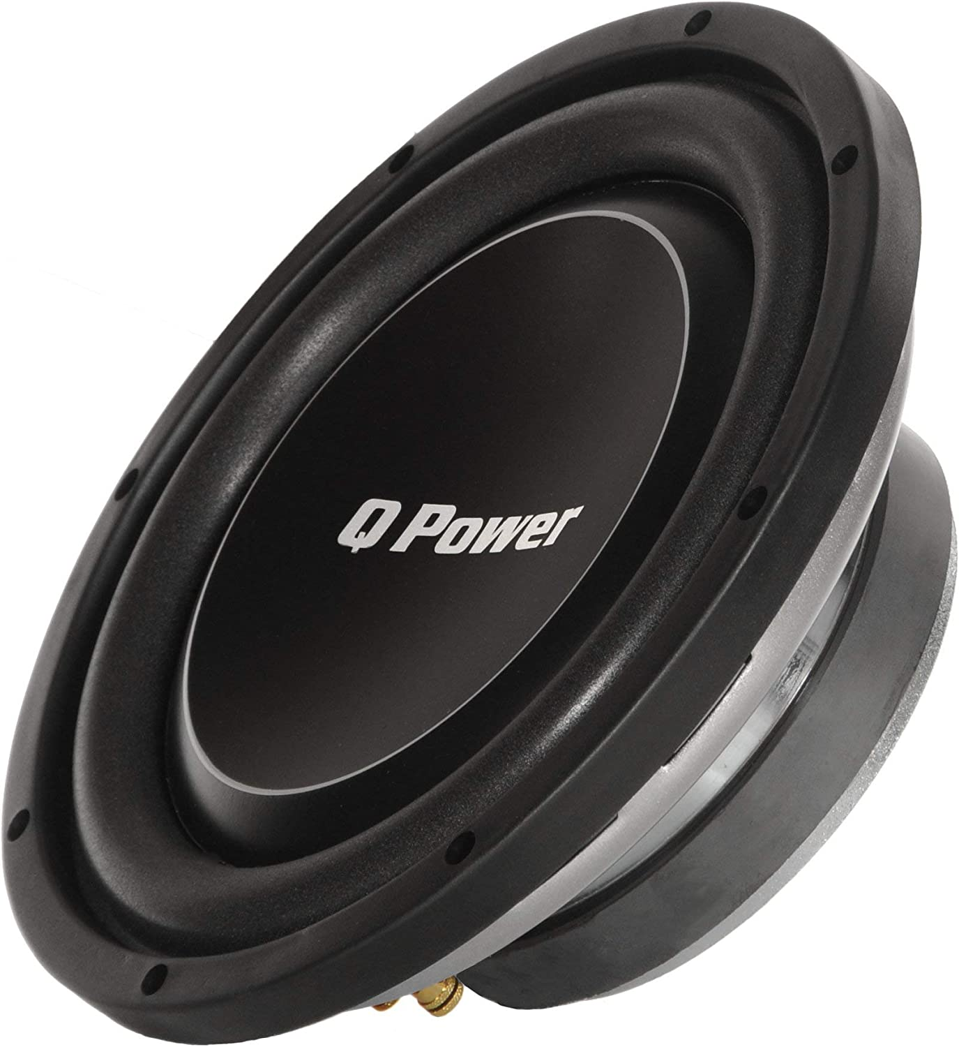 """Qpower QPF10DFLAT Deluxe 10/"""" Flat Subwoofer 1000W Max"""