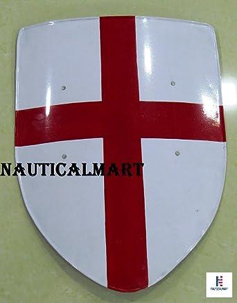 Amazon Medieval Crusades Shield 16 Gauge Steel Battle Ready