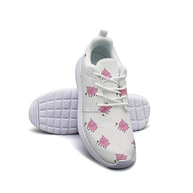 6b47a55c24f89 Amazon.com: Kawaii Kitty Cats face Casual Sneakers for Women nursing ...