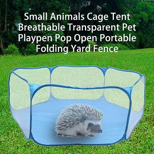 kengbi - Valla para Animales pequeños y pequeños (Transpirable, Plegable, Plegable, para jardín, Tienda de campaña): Amazon.es: Productos para mascotas