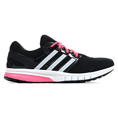 f3517fd4dd71 adidas Galaxy Elite 2 Womens Running Trainer Shoe Black  Pink - UK ...