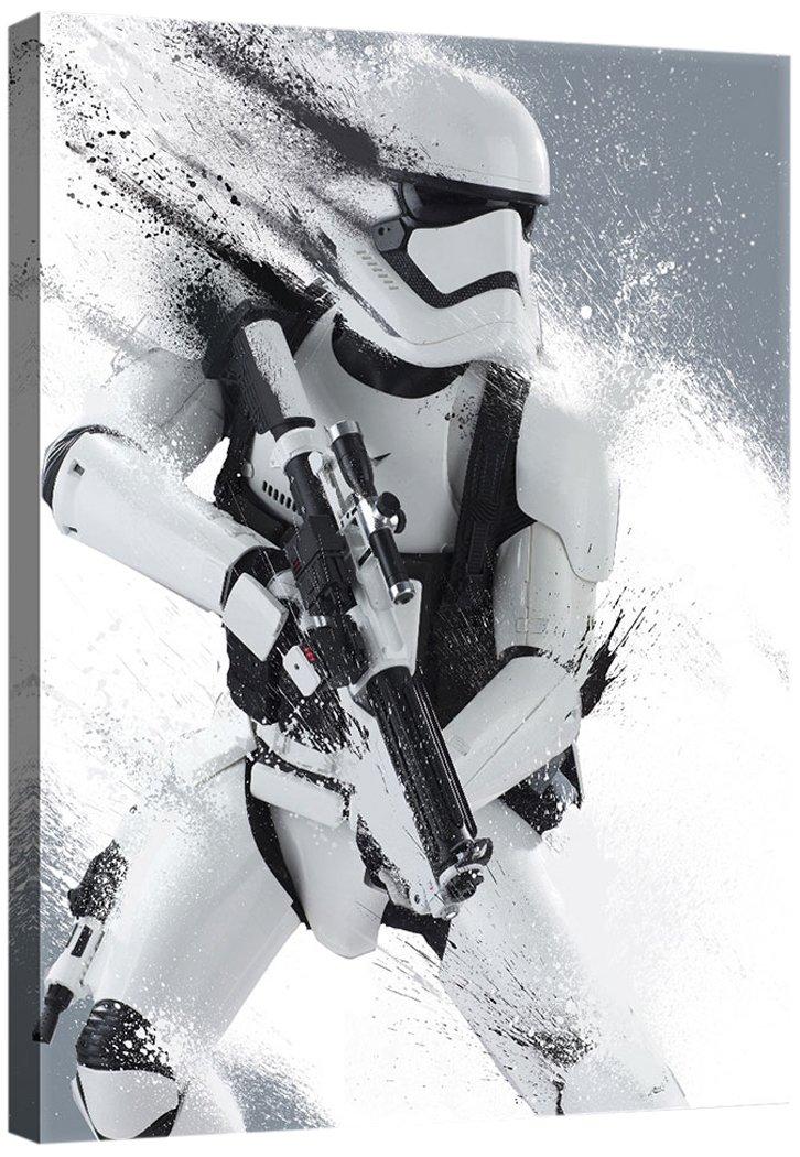 Delester Design PPD1930O1 Bild, Star Wars VII Das Erwachen der Macht, mehrfarbig, 100,0 x 3,0 x 75,0 cm