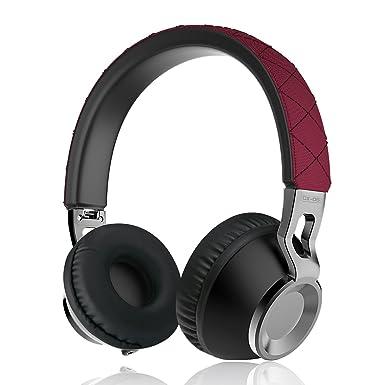Sonido Intone cx-05 estéreo plegable ligero portátil Auricular cancelación de ruido Bass Metal Elástico Cable ...