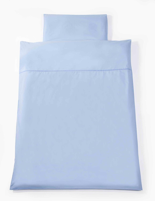 Change Line Blau Easy Baby Bettw/äsche 100//135 cm und 40//60cm