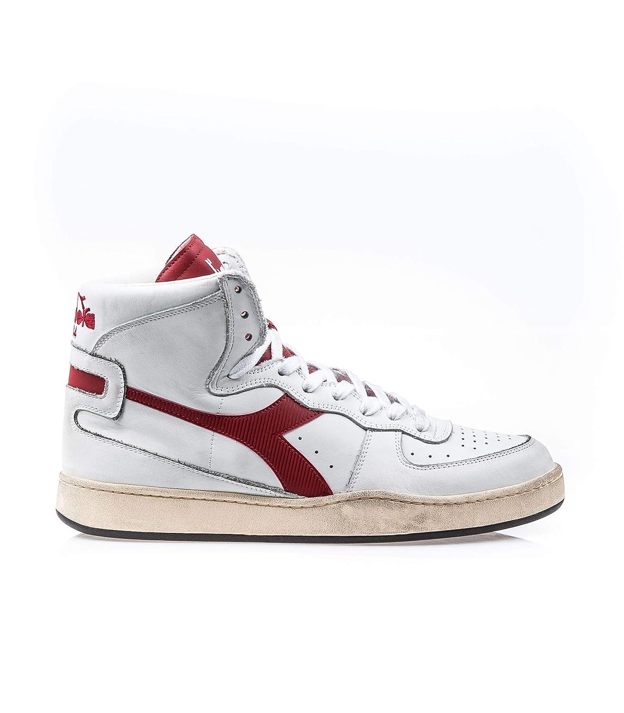 Diadora Heritage, Uomo, Mi Basket Basket Basket Used, Pelle, scarpe da ginnastica, Marrone 1aaa17