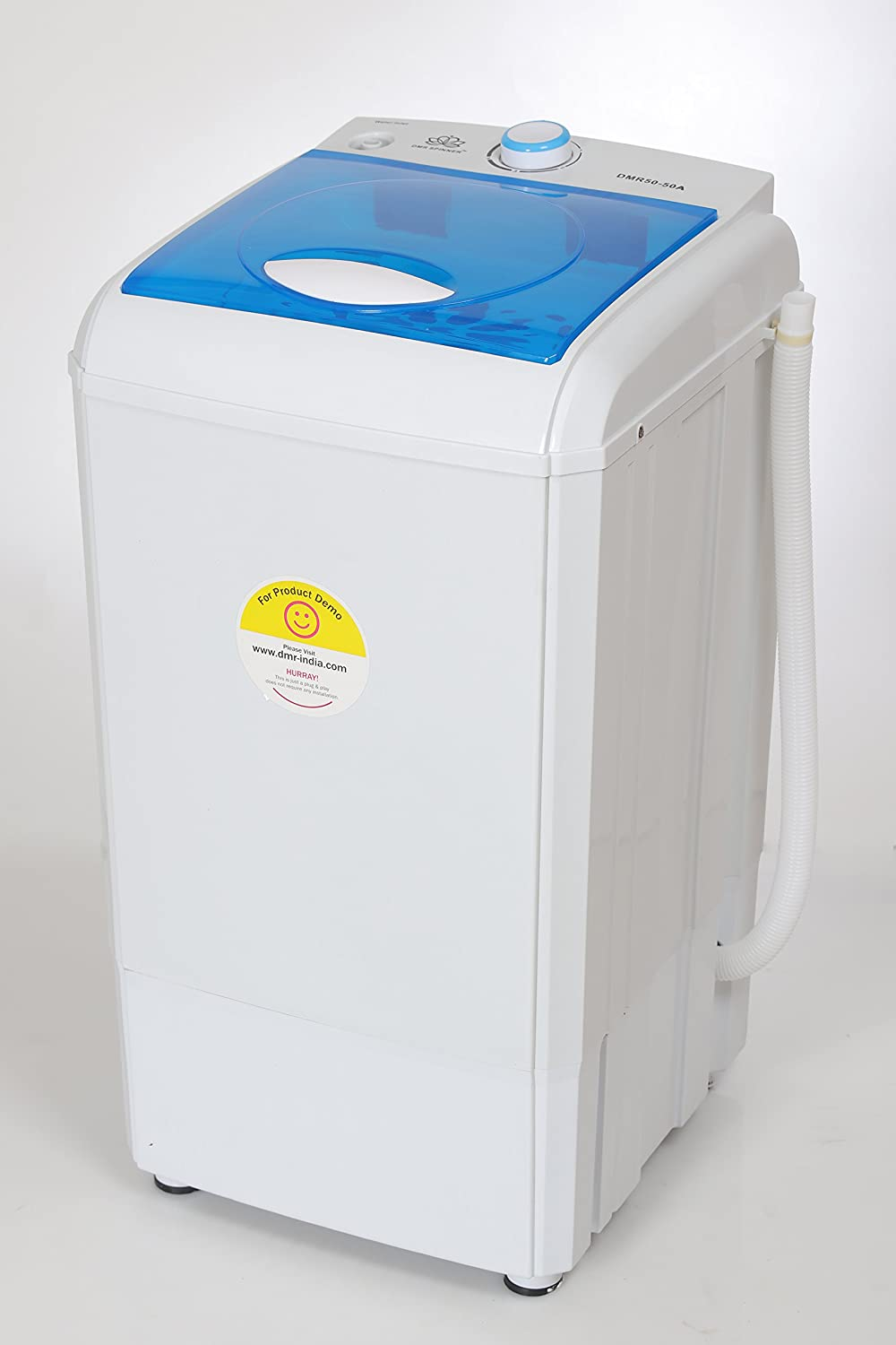 Dmr 50 50a Semi Automatic 5 Kg Spin Dryer Only Drying No Washing Amazon In Home Kitchen
