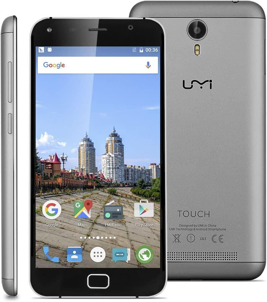 Umi Touch - 4G LTE Smartphone Libre Android 6.0 Multitáctil ...