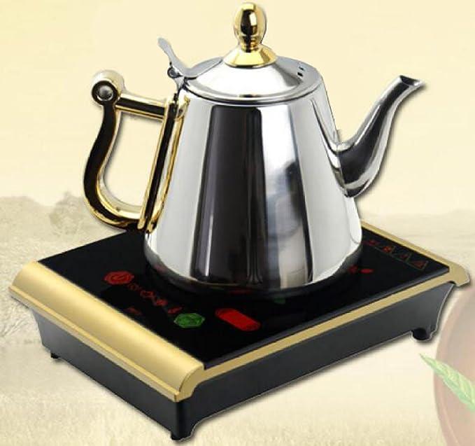 Cocina De Inducción Estufa De Té Delgada Electrodomésticos Estufas: Amazon.es: Hogar
