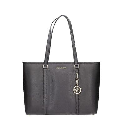 16cf0d2bd0 Michael Kors Large Sady Carryall Shoulder Bag Black  Amazon.com.au ...