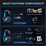 Mpow 7.1 Surround Sound Gaming Headset, PC, PS4