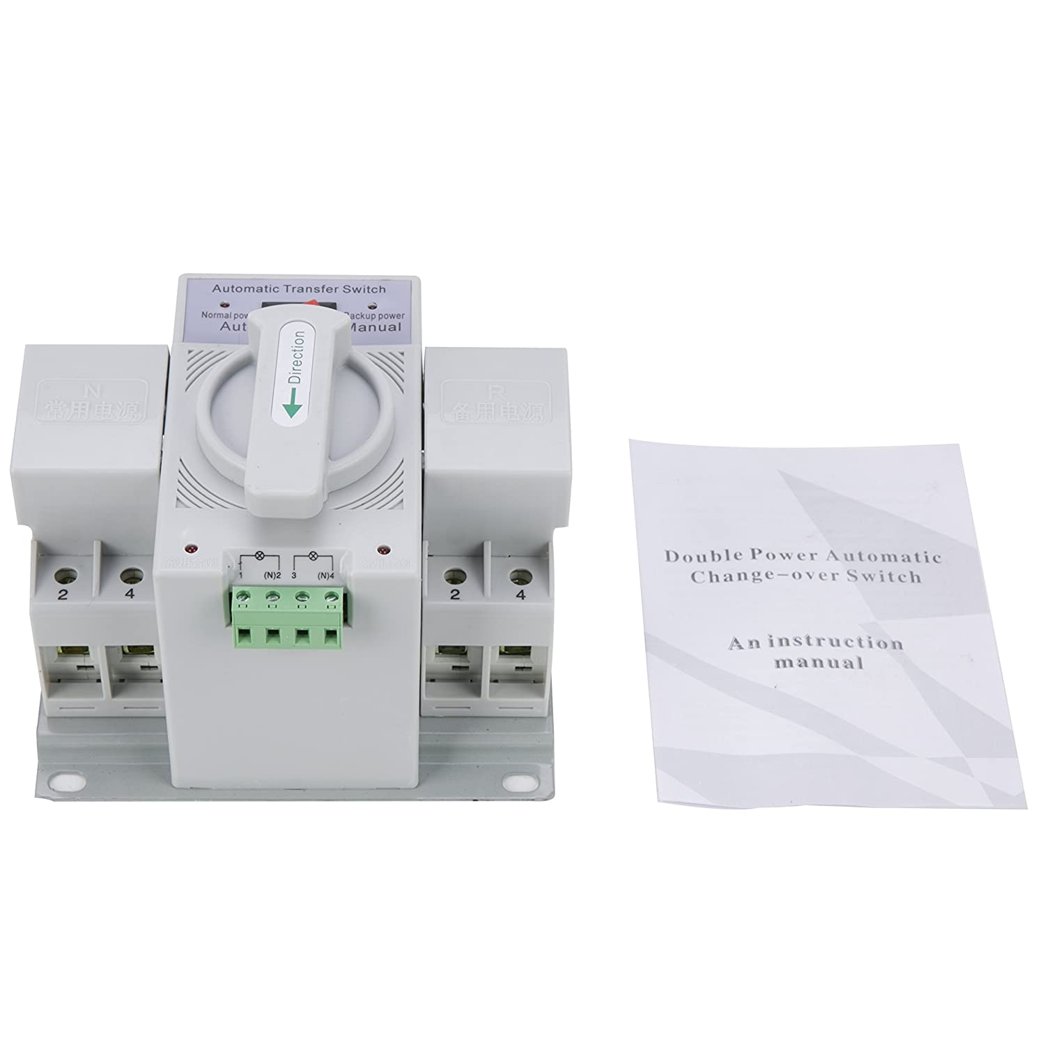 Yaetek 2p 63a 110v Mcb Type Dual Power Automatic Transfer Switch Ats Details About Controller Build Your