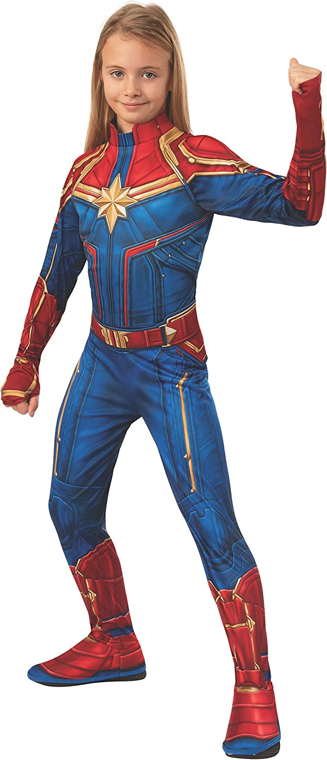 Amazon Com Rubie S Captain Marvel Hero Costume Suit Large Blue Red Toys Games Childrens capes octonauts toddler halloween costumes costumes cape with mask for kwazii barnacles dashi peso cosplay. rubie s captain marvel hero costume suit large blue red