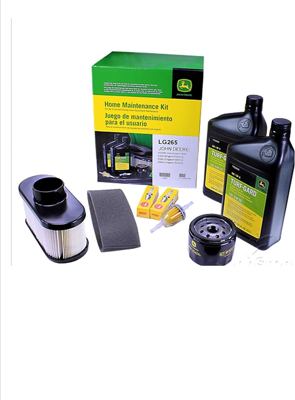 [ZTBE_9966]  Amazon.com : John Deere Maintenance Kit X300, X320, X324, X360, X500, X530,  X534, Filters, Oil Spark Plugs, LG265 : Garden & Outdoor | John Deere X534 Engine Schematics |  | Amazon.com