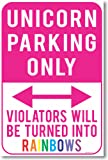 Amazon Price History for:Unicorn Parking Only - Violators Will Be Turned Into Rainbows - NEW Humor Poster