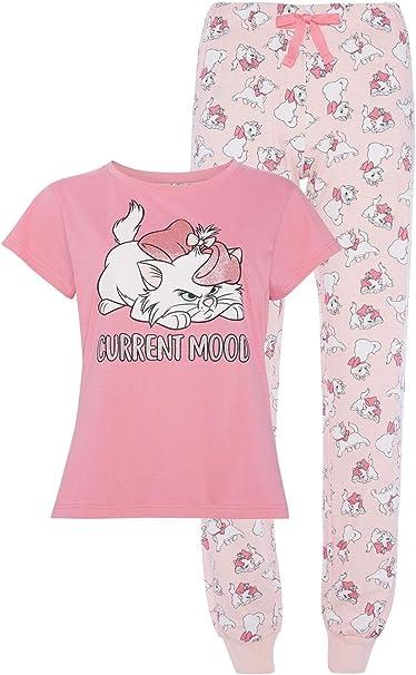 Pijama oficial de algodón para mujer con diseño de Aristocat ...