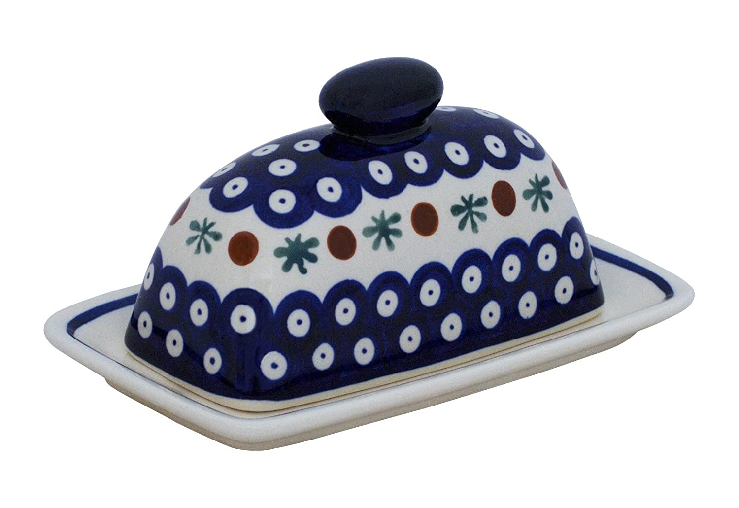 Hand-Decorated small cheese in 41, ideal for Harz Roller Bunzlauer Keramik GU-1377/41