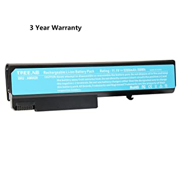 NB Batería del ordenador portátil para HP EliteBook 6930p 8440p 8440w Compaq 6530b 6535b