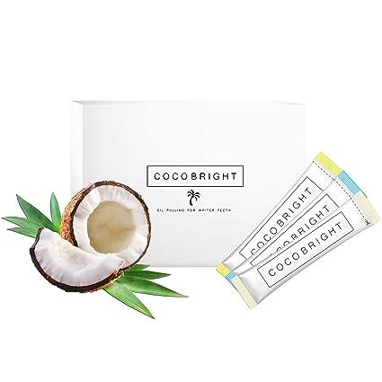 COCOBRIGHT | Oil Pulling con Aceite de Coco | Tratamiento de Limpieza Dental Desintoxicante de 14