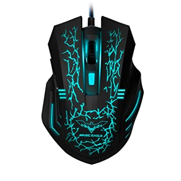 havit Raton Gaming LED Gaming Mouse Alámbrico Ratón para Juegos ...