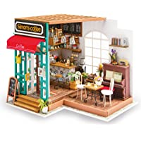Rolife Wooden Mini House Crafts-DIY Model Kits with Furniture and Accessories- Handmade Construction Kit-Wooden Playset…