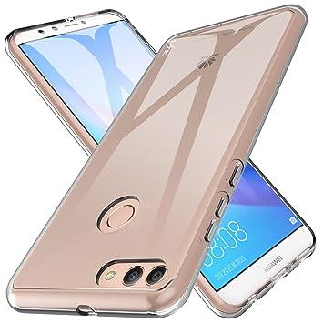 4b3f2f265ba LK Huawei Y9 2018 / Huawei Enjoy 8 Plus Funda, Carcasa Cubierta TPU  Silicona Goma Suave Case Cover Play Fino Anti-Arañazos: Amazon.es:  Electrónica
